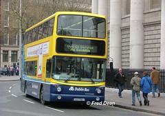 Dublin Bus AV163 (00D70163). (Fred Dean Jnr) Tags: april2005 dublin dublinbus busathacliath dublinbusyellowbluelivery volvo b7tl alexander alx400 av163 00d70163 collegegreendublin bgz1237 htown