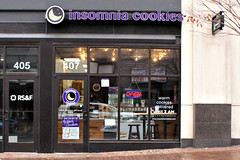 Insomnia Cookies: Delivered Until 3am! (Throwingbull) Tags: baltimore county md maryland insomnia cookies store shop funny humor humorous deliver delivery delivered
