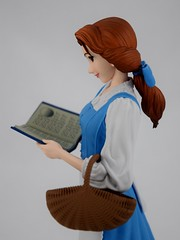 EXQ-starry Belle Figure By Banpresto - Deboxed - Midrange Right Side View (drj1828) Tags: exqstarry 85inch 220mm blue princess belle banpresto vinyl figure purchase beautyandthebeast animated disney crane claw prize deboxed
