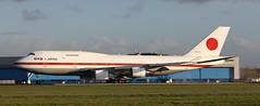 B-747, 20-1101, Japan Air Self Defence Force, Schiphol Airport, 9 Januari 2019 (Anne Fintelman) Tags: b747 201101 japanairselfdefenceforce schipholairport sadf