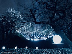 Nest ~ Lloyd Park, Walthamstow (Nefise H) Tags: uk england east london waltham forest walthamstow iphone 7 nest welcome lighting installation 2019 borough culture soundscape erland cooper marshmallow laser feast lloyd park william morris gallery nefise hussein photography