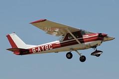 G-AYGC (LIAM J McMANUS - Manchester Airport Photostream) Tags: gaygc alphaaviationgroup reimscessna reims f150k cessna150 c150 cityairportmanchester barton egcb