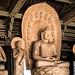 The sandalwood Buddhist effigies at Yangong