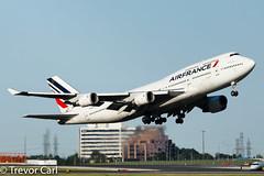 Air France | F-GITJ | Boeing 747-428 | YYZ | CYYZ (Trevor Carl) Tags: aircraft airplane fgitj 32871 photo boeing 747428 plane aviation alltypesoftransport airfrance transport torontopearsoninternationalairport cyyz avgeeks yyz