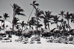 + (Hard to be a girl.) Tags: puntacana república dominicana dominican playa beach sun blackwhite black white chromatic light