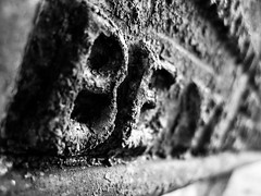 (danjamesphotography) Tags: rust weathered words letters gravestone