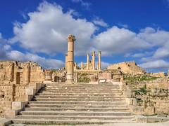 LR Jordan 2017-4240191 (hunbille) Tags: jordan jerash roman city templeofzeus temple zeus souththeatre south theatre theater steps