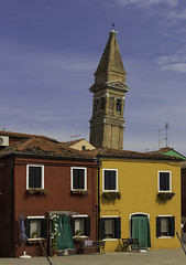 Campanile of  San Martino Church -  Burano (JLM62380) Tags: venice venise colors italy italia italie campanile sanmartino church burano