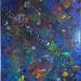 """Earth Satellite"" by Lori R, acrylic, $40.00"