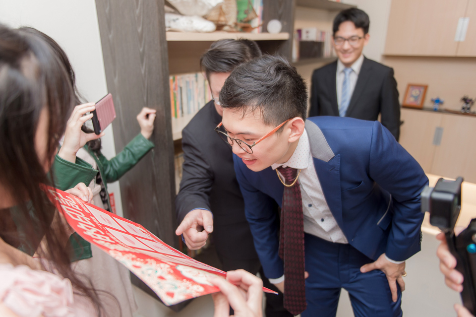 台南東東宴會式場 婚宴 走在幸福的紅毯上 R & B 043