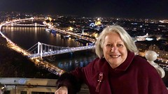 Ritsa and the Danube (RobW_) Tags: ritsa gellert hill citadella budapest hungary amaviola danube 16nov2018 november 2018
