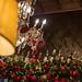 Weihnachtsdekorationen in einem Restaurant in Rom