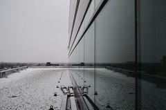 I Wasn't Was I (Paul B0udreau) Tags: nikkor1855mm canada ontario paulboudreauphotography niagara d5100 nikon nikond5100 kitchener snow winter reflection lines