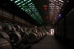 Preperation (Wulfruna) Tags: grid 56078 colas steel freight railway diesel locomotive bostonsteel uk england washwoodheath traindriver steelcoil warehouse metcam metrocammell 6e07