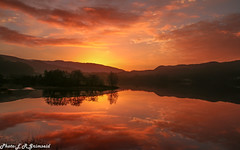 Sunrise , Kalandsvatnet (2000stargazer) Tags: kalandsvatnet hatlestad fana bergen norway sunrise lake reflections dark silhouette landscape waterscape nature bergensavisen fanaposten canon gettyimages