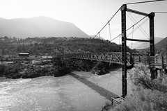 Lillooet's old bridge (Sir_Francis_Barney) Tags: canada kanada british columbia lillooet bridge brücke