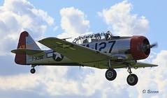 North American AT 6C-1-NT Harvard IIA n° 88-12127 / 41-33606  ~ F-AZBE / TA-127 (Aero.passion DBC-1) Tags: spotting lens 2010 airshow dbc1 david biscove aeropassion avion aircraft aviation plane north american t6 harvard ii 4133606 ~ fazbe ta127 texan