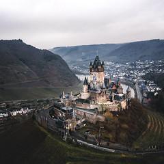 On the hill (depthobsessed) Tags: allthingsidrone mosel reichsburgcochem rheinlandpfalz droneshot cochem castle dji droneoftheday mavic pro depthobsessed germany roadtrip