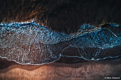 Above the waves (Steve Samosa Photography) Tags: winter aerialshot aerialphotography drones droneshot viewfromabove waves above sand beach coast coastal