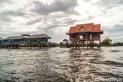 Arriving at Kampong Phluk Floating village (Lцdо\/іс) Tags: kampong phluk floating village siemreap tonle sap lake cambodge cambodia kambodscha water asia asian asie discover flickr explore extérieur outside voyage travel trip lцdоіс