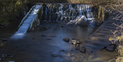 Water Stairs (Daniprial) Tags: stairs nikon nikonistas water nikond7200 d7200 nikonista sigma 1750 nd nd1000 30sec leon spain life sunday river longexposure amateur pic picoftheday rock agua roca arbol tree rio largaexposicion green
