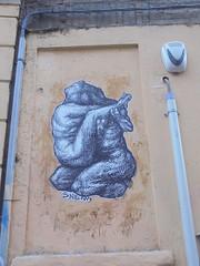 962 (en-ri) Tags: snem bianco nero grigio manifesto bologna wall muro graffiti writing persone