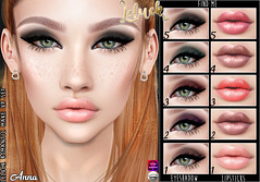 [LeLuck] Romantic MakeUp Anna (Sunkora) Tags: love bites hunt lovebiteshunt sl secondlife toxxic leluck eyeshadow lipstic romantic new findme