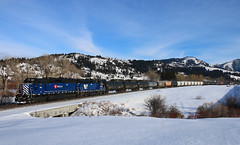 Unmistakable (Gales of November) Tags: mrl 355 405 bozeman livingston local