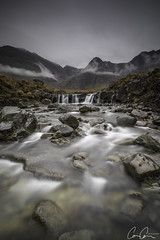 Forsake ([CamCam]) Tags: yellow lsle skye scotland fairy pool pools mist cloud mountain mountains waterfall long exposure