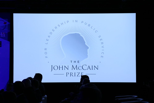 Tribute video to the late Senator John McCain, presented by HISF