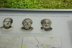 DSC_1520 (Kent MacElwee) Tags: athens greece attica europe aristotle philosophy philosopher peripateticschool 335bc aristotleslyceum plato socrates history ancientgreece