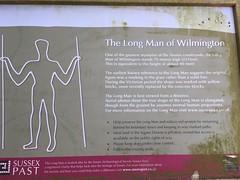 Long Man info board (dark_dave25) Tags: south downs uk england camping september 2018 hot
