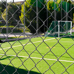 Wire Fence and Soccer Field thumbnail