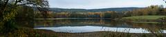 Großer Teich (gerhardschorsch) Tags: sony ilce7r a7r available availablelight panorama vollformat landschaft landscape herbst autumn 55mm fe55mm fe55mmf18za f18 festbrennweite zeiss za teich sachsen vogtlandkreis