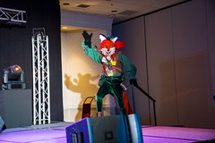 DSC09115 (Kory / Leo Nardo) Tags: pacanthro pawcon paw con pac anthro convention fur furry fursuit suiting mascot sona fursona san jose doubletree hotel california dance party deck animals costuming pupleo 2018