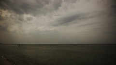 space (Darek Drapala) Tags: space sea seashore seascape baltic water waterscape waterreflects nature panasonic poland polska panasonicg5 mood dark
