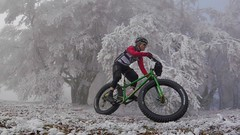 What A Blast (29in.CH) Tags: fall autumn fatbike ride 18112018 frozen trees