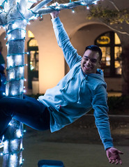 JYP-Kevin-Raquidan-30 (Kevrockydon) Tags: nikon nikonphotography nikond7200 d7200 portrait people person night light lights neon color christmaslights libertystation sandiego california city