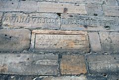 Bricks, Augustiner-Kirche, Gotha (stephengg) Tags: germany thuringia gotha brick inscribed augustiner kirche augustinian church