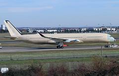 A7-AMJ (F-WZHD) (Harvey's Aviation Images) Tags: 237 unpaintedaircraft a7amj fwzhd airbus a350 lfbo tls toulouse blagnac