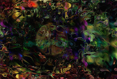 not in a good place... (Mark Noack) Tags: abstract abstraction expressionism abstractexpressionism futurism surrealism light color layers layering photoshop awardtree shockofthenew