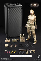 VERYCOOL TOYS VCF-2037B A-TACS FG Women Soldier-JENNER - 09 (Lord Dragon 龍王爺) Tags: 16scale 12inscale onesixthscale actionfigure doll hot toys verycool female