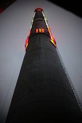 Power Station Chimney, Shanghai (ARROWSMITH) Tags: rupert arrowsmith leica noctilux shanghai industrial industry china power station art factory biennale gallery blade runner tower chinese smokestack generator