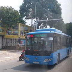 Foton BJ6931C6MCB on bus line number 18: September 23rd park <-> Hiệp Thành market   Vehicle license plate: 51B - 402.83 (phanphuongphi) Tags: chobenthanh truongthptvothisau congvien23thang9 cngbus benthanhmarket chohiepthanh buytsaigon ngvbus chogovap fotonbus hochiminhcity bus18 nganamchuongcho congvienphanmemquangtrung langtreemsos uybannhandanquangovap naturalgasbus