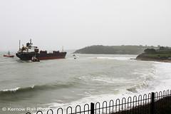 Kuzma Minin - 2 (Kernow Rail Phots) Tags: kuzmaminin russian 16000 ton cargo ship freighter falmouth cornwall kernow 18122018 gales rain heavyseas ap tugs ships boats
