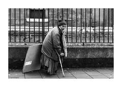 """God Bless Us Everyone"" © (wpnewington) Tags: london begging dickens cardboard"