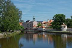 DSC_5322_DxO (maximych club Nikon) Tags: чехия ческебудеёвице мостик речка