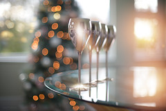 Celebration (KissThePixel) Tags: christmas christmastree tree glass wineglass wine silver silverglass sunlight sunset bokeh dreamy soft pastel dof depthoffield bokehlicious lights light christmaslight december merrychristmas home nikondf nikon 50mm manuallens aperture 12 f12 tabletop creative