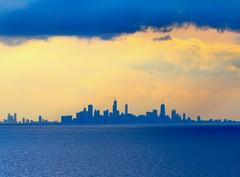 Chicago Skyline (knutsonrick) Tags: