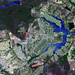 Brasilia, the capital of Brazil. Original from NASA. Digitally enhanced by rawpixel.